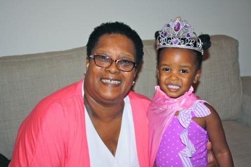 Mila and Grandma Lorick.